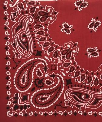Large Red Bandana