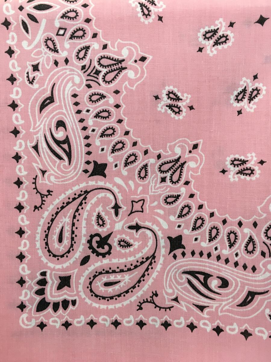 Small Pink Bandana