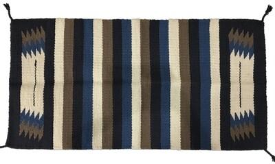 Hvy Saddle Blanket Zia Blue/Gray