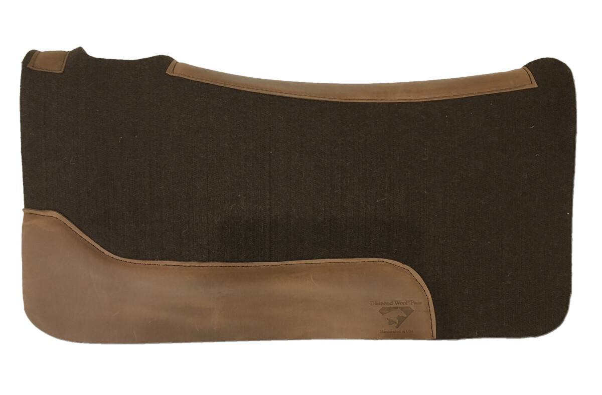 Brown Virgin Contoured Pad AW25