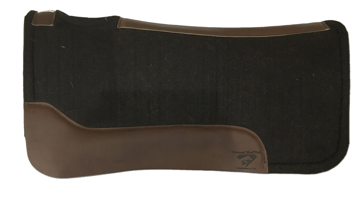 BW10 1' Contoured Performance Pad w/ Cutouts Wool Fleece btm