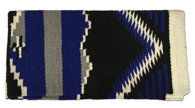 Durango Blk/Roy Saddle Blanket