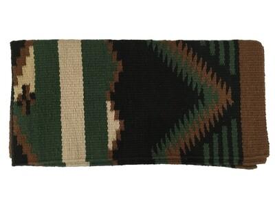 Durango Blk/HGRN Saddle Blanket