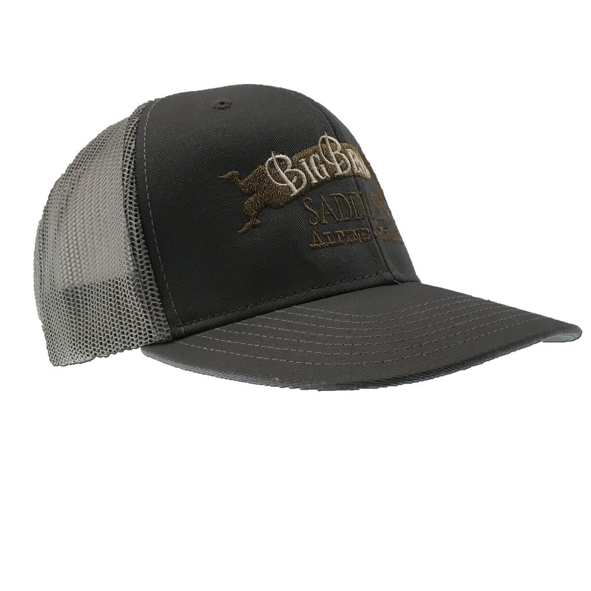 Gun Metal/ Glacier Mesh-back Cap