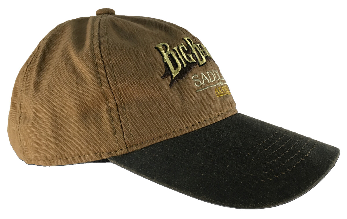 Tan/Brown Canvas Cap