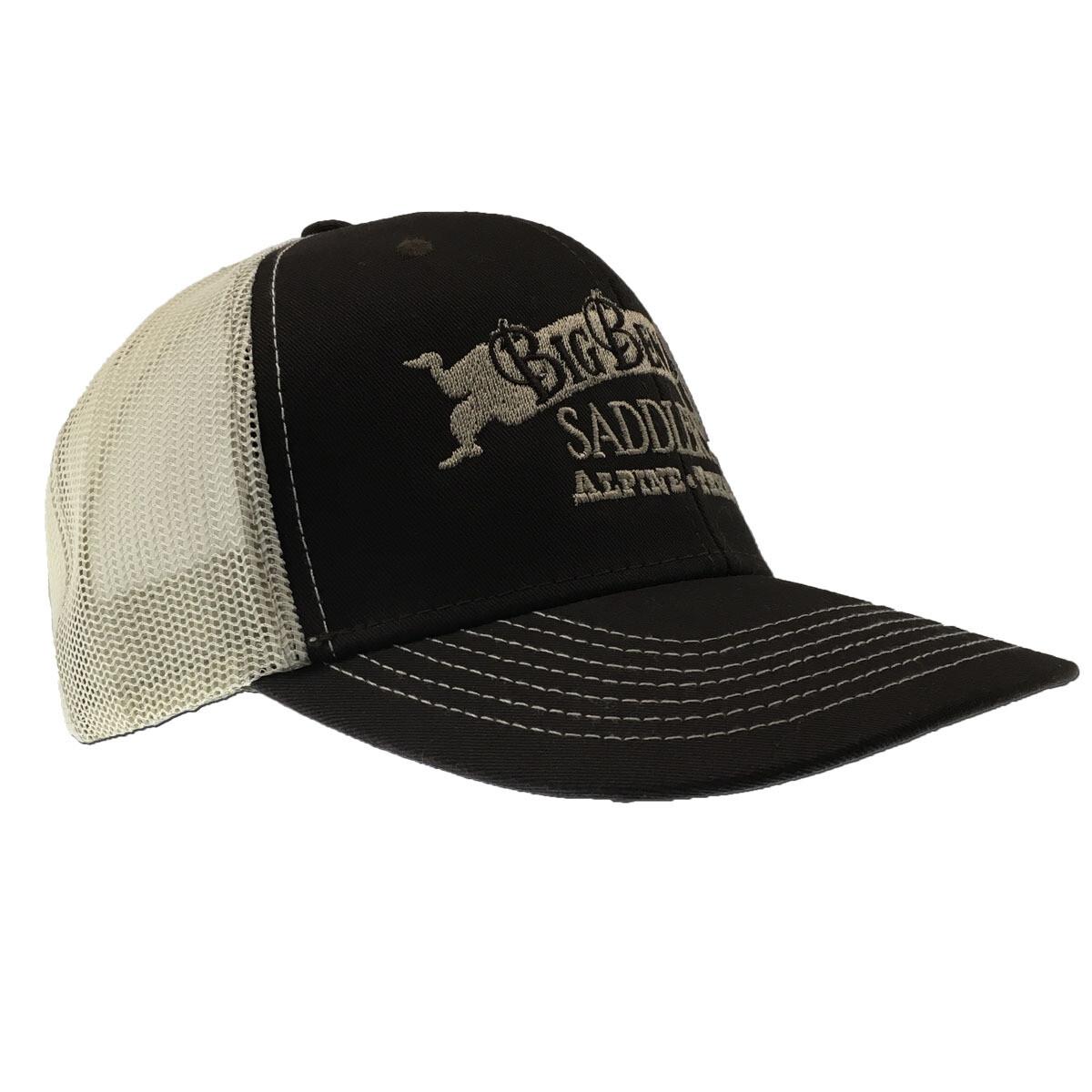 Chocolate/Stone Mesh-back Cap