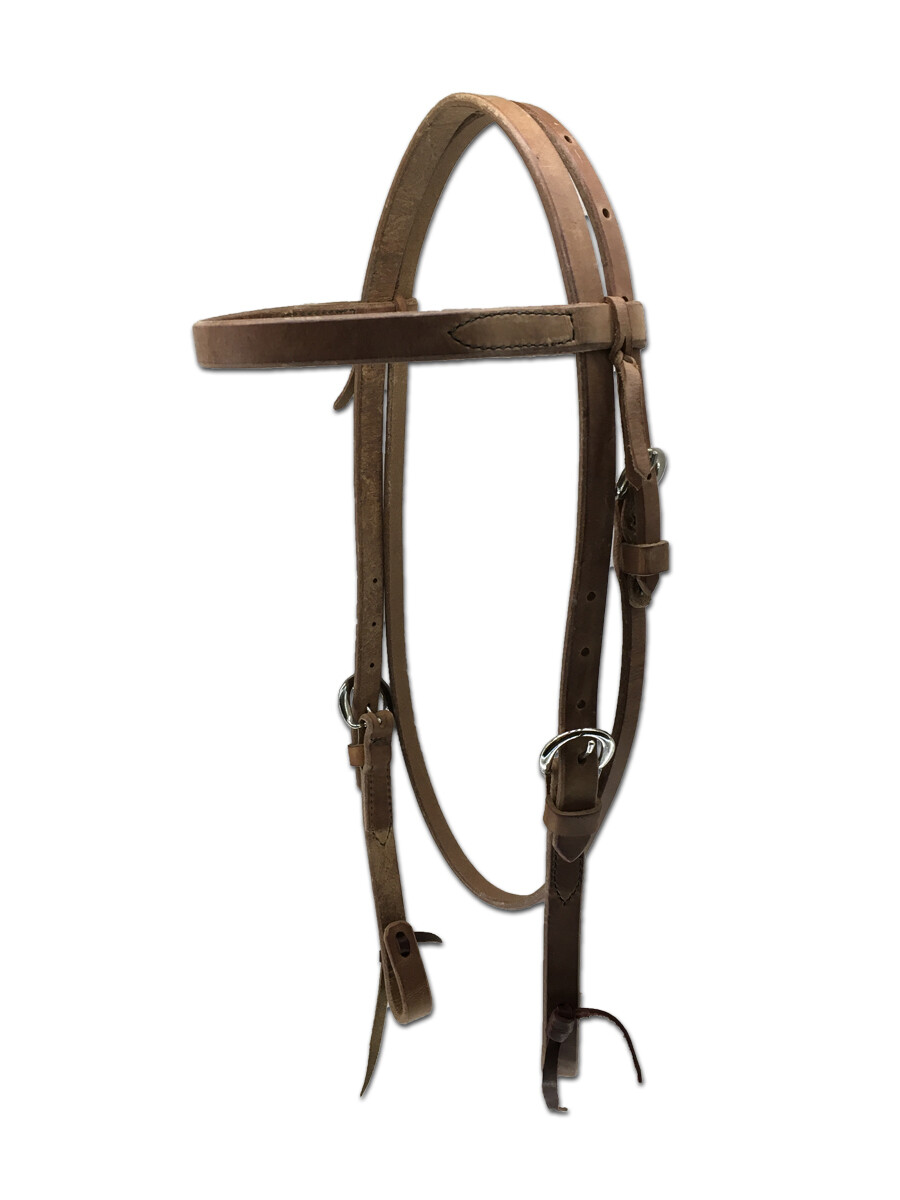 4-101 Double Adjust Browband Headstall