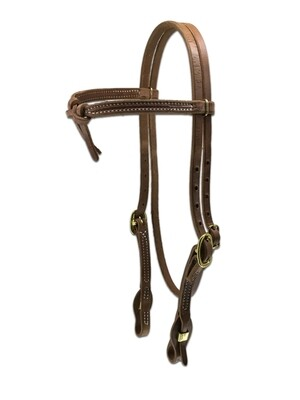 Knotted Quick Change Headstall