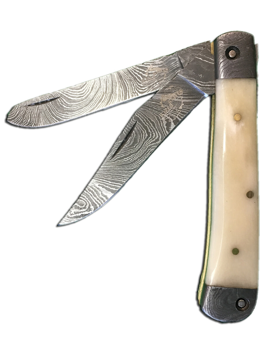 "7020-B  4"" DB pocket knife"