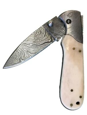 "5005 B single 4"" blade pocket knife"