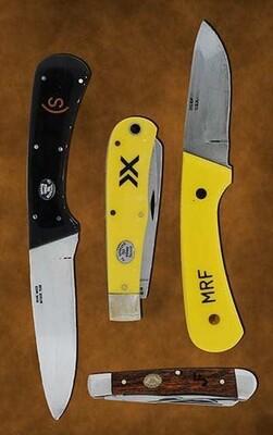Moore Maker knife engraving