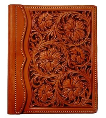 Floral Carve Address Book