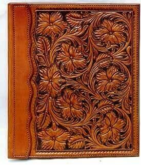 Floral Carve Binder Photo Album