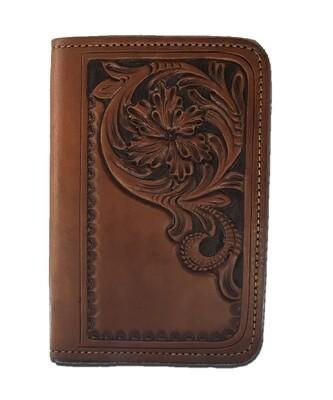 Corner Carve Pocket Notebook
