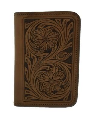 Floral Carve Pocket Notebook