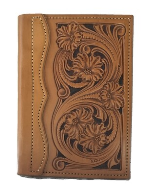 Floral Carve Tally Book