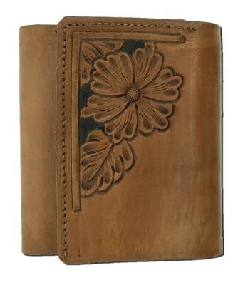Corner Carve Trifold Wallet