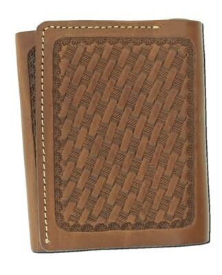 Basket Trifold Wallet