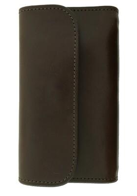 Plain Chocolate Ladies Wallet