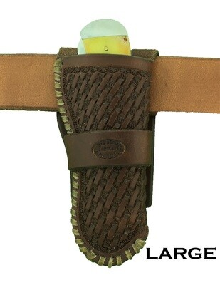 Basket Laced Holster Scabbard