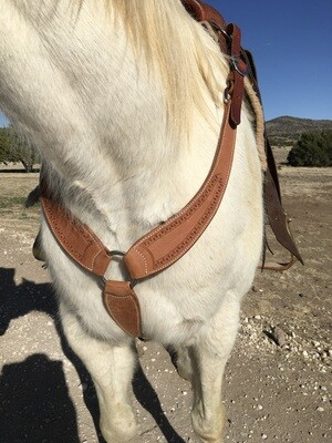 Carlos Rough Out Martingale Breast Collar