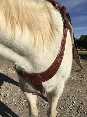 Basket Solid Martingale Breast Collar
