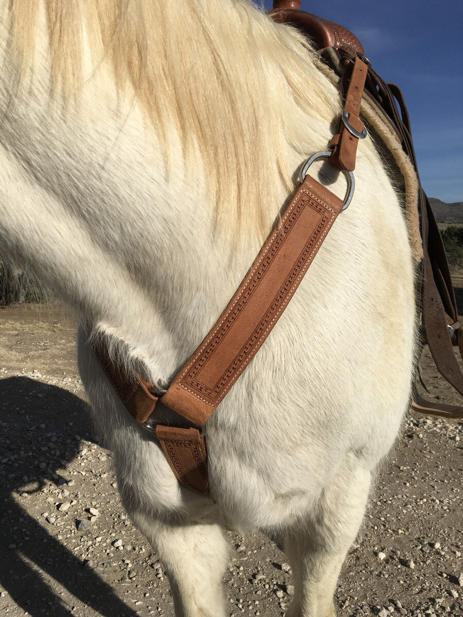Carlos Rough Out Ranger Breast Collar
