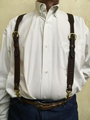 Chocolate Basket Suspenders