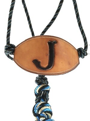 Add Bronc Leather nose piece to halter