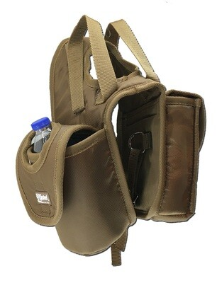Lunch Bag Bottle Holder Brown