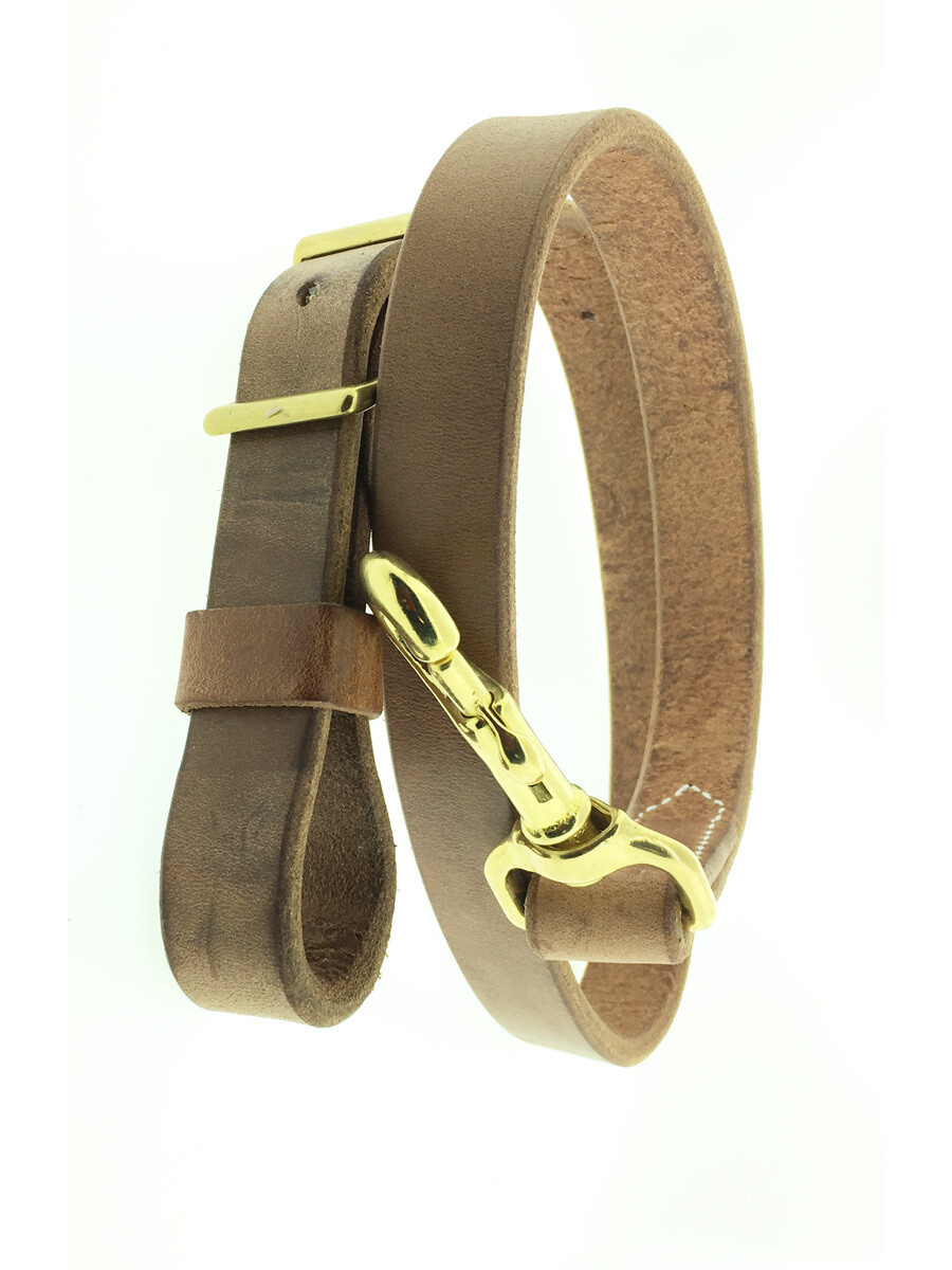 """1"""" Tie down Harness Leather"""