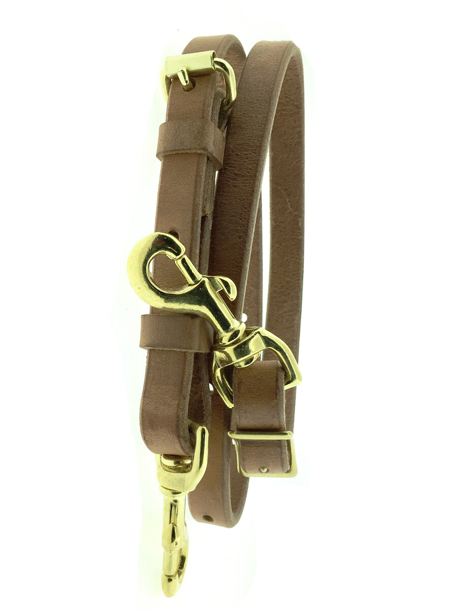 """3/4"""" Deluxe Tie Down Harness leather"""