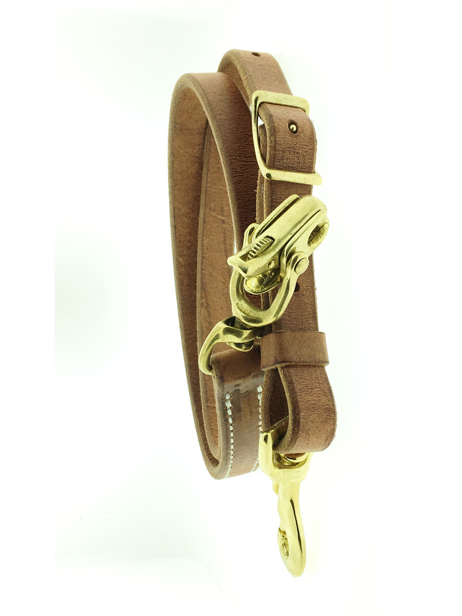 3/4 Locking Snap Tie Down Harness Leather