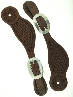 Basket Brazos Spur Leather