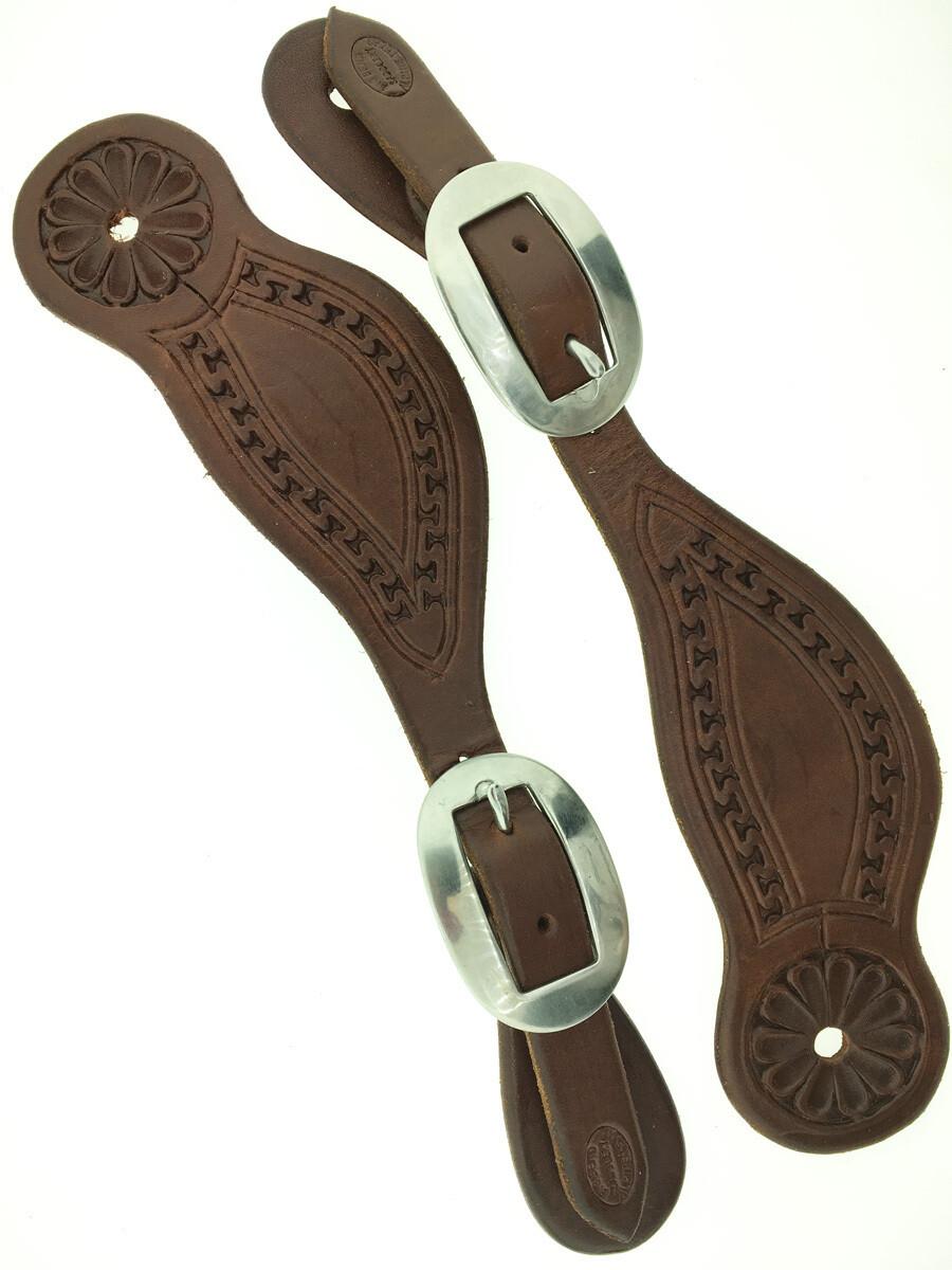 Carlos Brazos Spur Leather