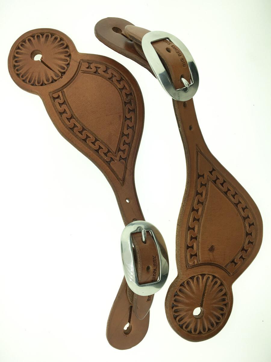 Carlos Cheyenne Spur Leather