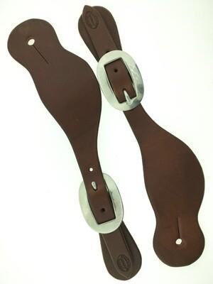 Plain Brazos Spur Leather