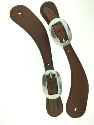 Plain Curved Spur Leather