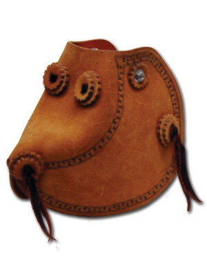 Carlos Roughout Monkey Nose Bell Tapaderos
