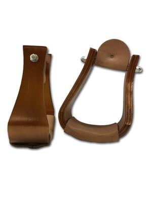 30-3131 wooden slope stirrup