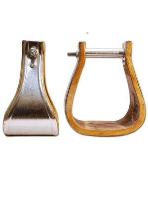 Tin Bound Bell Stirrups