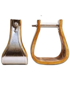 Online Only Tin Bound Bell Overshoes Stirrups