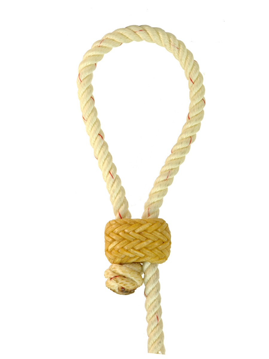 KGS Rawhide Horn Knot