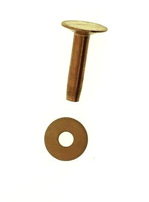 """#9 Copper Rivets 1""""  1 lb."""