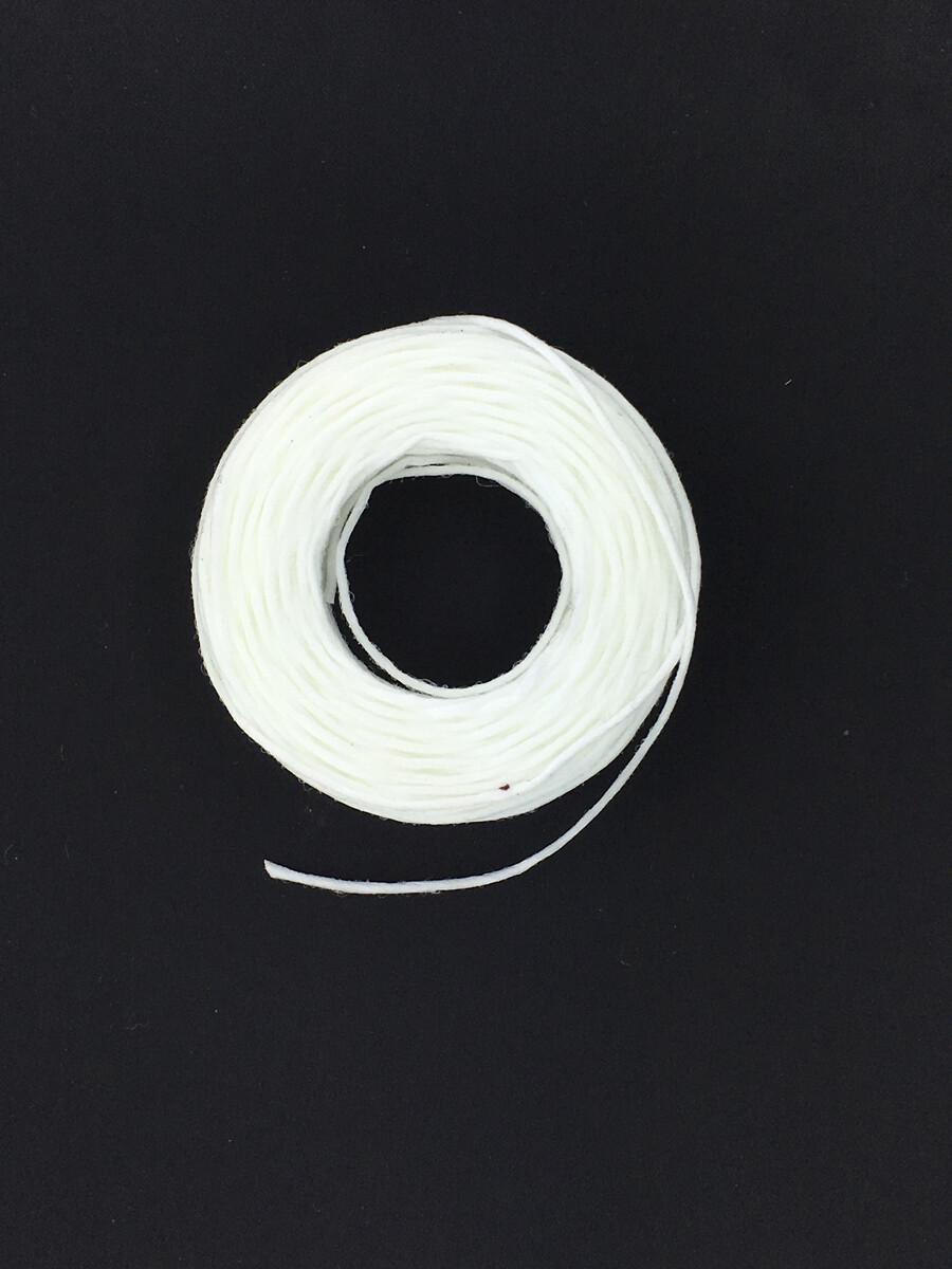 White Waxed Thread - Nyltex