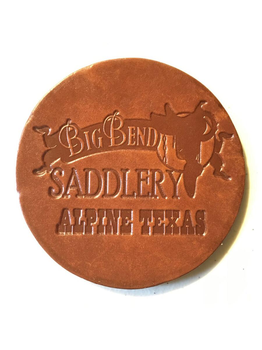 Big Bend Saddlery Logo Coasters