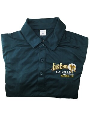 Mens Marine Green Polo