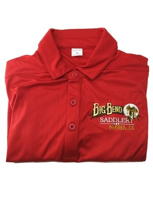 Mens Red Polo