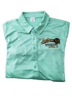 Ladies Seafoam Polo