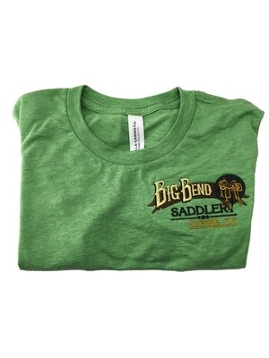 Kids Green Triblend Tshirt